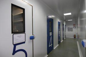 Puertas de cámaras de estabilidad QTI